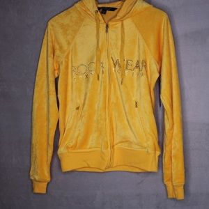 ROCAWEAR - WOMEN'S YELLOW TRACKSUIT